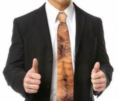 Hairy Chest Tie
