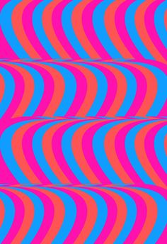 Tyler Spangler Bright Background, Background Patterns, Op Art, Print Pictures, Colorful Pictures, Fabric Patterns, Print Patterns, Tyler Spangler, Wave Pattern