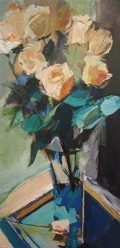 Elegance by Ann Watcher Oil ~ 48 x 24