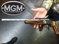 Here a New Twist on MGM Specialty Gun Barrels. New MGM Specialty Barrels our guys are coming up with. Ninja Weapons, Weapons Guns, Guns And Ammo, Thompson Contender, Ar Barrels, Revolver Rifle, Single Action Revolvers, Thompson Center, Gun Holster