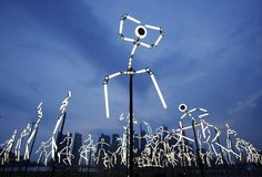 "brilliant ""animated"" art installation in lyon, france"