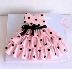 """Discover thousands of images about """"When would I ever have to major this dress cake?"""" It's so cute - Baby & Kids Clothing - - """"When would I ever have to major this dress cake?"""" It's so cute - Baby & Kids Clothing Baby Frocks Designs, Kids Frocks Design, Frocks For Girls, Little Girl Dresses, Baby Dress Design, Baby Girl Dress Patterns, Dress Cake, Baby Kind, Toddler Dress"""