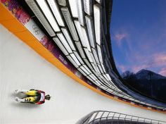 DAY 5:  Natalie Geisenberger of Germany during the Women's Luge Singles