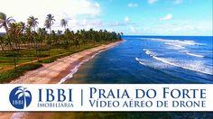 Praia do Forte – Bahia – Drone mostrando as belezas da Praia do Forte  (...