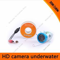 76.99$  Buy now - http://aliias.worldwells.pw/go.php?t=32546126305 - Free Shipping!30M Waterproof Underwater ICE fishing Camera 1000TVL Fish Finder Part with 12pcs Led lights