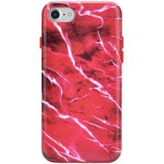 Red Velvet Marble iPhone Case ❤ liked on Polyvore featuring accessories, tech accessories, pattern iphone case, print iphone case, iphone sleeve case, marble iphone case and iphone cover case