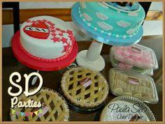 Tortas y mesa dulce para Barbarita!!!