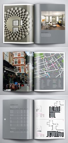 A Collection of Effective Real Estate Brochure Designs and Layouts - Graphic Templates Search Engine Luxury Brochure, Corporate Brochure, Corporate Design, Company Brochure, Letterhead Template, Brochure Template, Layout Design, Design Design, Brochure Layout