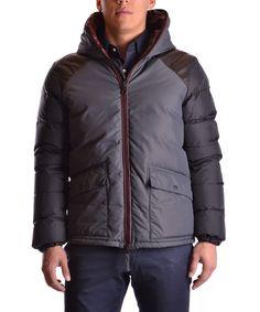 DUVETICA Duvetica Men'S Mcbi109005O Grey Polyamide Outerwear Jacket'. #duvetica #cloth #coats & jackets