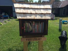 Kira Gimm. Apple Valley, MN. As avid readers and parents to young children we wanted to help promote the love of reading in our community. Our library's design is a take on Viking architecture, and we strive to have a good variety of books for children, teens, and adults of all ages. All are welcome! Little Free Libraries, Little Library, Free Library, Library Books, Library Ideas, Lending Library, Apple Valley, Community Building, Library Design