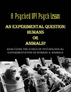 Should psychological testing be done on humans or animals? Should humans be exposed to the traumatic effects of experimentation? Or should animals have to endure the suffering and altered living conditions that result from testing in psychology labs? Colleges For Psychology, Psychology Courses, Forensic Psychology, Psychology Major, School Psychology, Psychology Websites, Social Studies Classroom, Teaching Social Studies, Classroom Resources