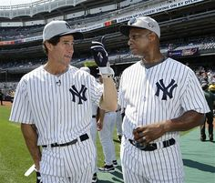 paul o'neill ny yankees   Former New York Yankees outfielders Paul O'Neill, left, and Darryl ...