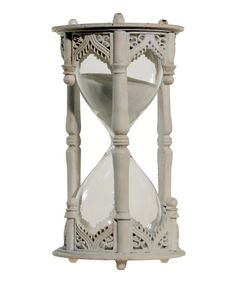 Look at this White Hourglass on #zulily today!