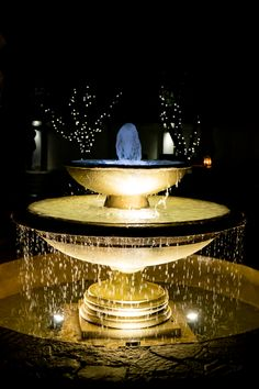Restaurant Fountain Area at Night Country Estate, South Africa, Fountain, Restaurant, Night, Outdoor Decor, Home Decor, African, Decoration Home