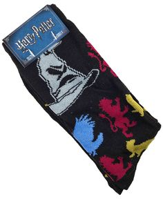 Harry Potter 'Sorting Hat' Mens Crew Socks - Loot Crate Exclusive - New.   https://www.ebay.com.au/itm/232689960720 OR https://www.supportivepc.com   #LootCrate #HarryPotter #Collectibles