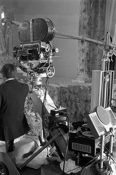 Mitchell Camera - universal city, california, april 1968   - movie soundstage  universal city studios