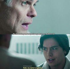 I love self-aware characters