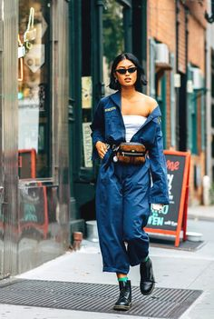 online retailer 1cd3d 105f4 Top 10 The Best Spring 2019 Street Style Trends From New York Fashion Week  2018