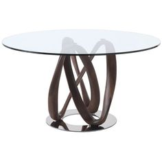 Porada Infinity Dining Table (1,165 KWD) ❤ liked on Polyvore featuring home, furniture, tables, dining tables and infinity table