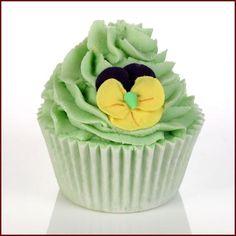 Lime Blossom & Lavender Bath Brûlée 160g, Bath Brûlées, £3.49, Bomb Cosmetics. Finest Handmade Aromatherapy Cosmetics & Soaps