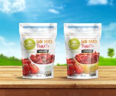 Galen Sun-dried Tomato Doypack on Packaging of the World - Creative Package Design Gallery