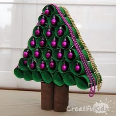 Toilet Paper Roll Christmas Tree Video | The WHOot