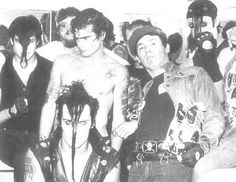 Henry Rollins with Misfits & Mad Marc Rude- (centre row is Glenn Danzig, Henry Rollins & Mad Marc Rude) 1983 Music Love, Good Music, Punk Rock, Misfits Band, The Misfits, Danzig Misfits, Glenn Danzig, Henry Rollins, Rockn Roll