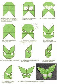 figuras de origami paso a paso de animales - Buscar con Google