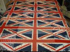 Stampin' on the Prairie: Celebrate Card and Union Jack Quilt