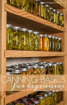 Canning gives you the option to preserve foods when they are in season. Here are basic canning tips to help you get started if you are new to…