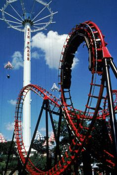 Six Flags Over Texas used to be one of my favorite places when I was a kid.