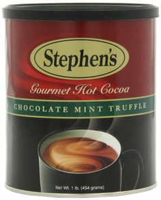 Stephen's Gourmet Hot Cocoa, Chocolate Mint Truffle, 16-Ounce Cans (Pack of 6) - http://bestchocolateshop.com/stephens-gourmet-hot-cocoa-chocolate-mint-truffle-16-ounce-cans-pack-of-6/
