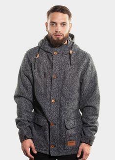 Wrung Greyhound gray jacket