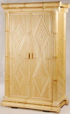 Lemari bambu Wooden Pallet Furniture, Bamboo Furniture, My Furniture, Wooden Pallets, Bamboo Crafts, Wood Crafts, Bamboo House Design, Cob Houses, Cardboard Toys