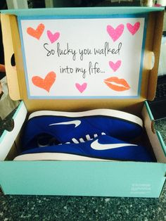 Diy boyfriend gift my boyfriend and i are coming up on our one gifts for boyfriends sneakers solutioingenieria Gallery