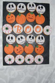 Biscuits d'Halloween, Recette de Biscuits d'Halloween par Fadila