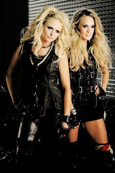 Miranda Lambert & Carrie Underwood