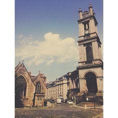 Mumma Leeson lives in a pretty part of Edinburgh.  #city #summer #architecture #vscocam #cityscape #saintstephensstockbridge #stockbridgeedinburgh #stockbridge #edinburgh #scotland