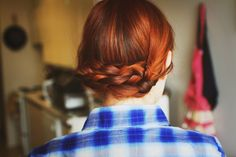 Summer Braided Updo | Katniss Reaping Braids