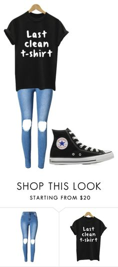 """""""Untitled #243"""" by cruciangyul on Polyvore featuring WithChic and Converse"""