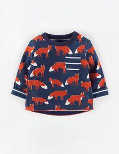 Reversible Printed T-shirt 71444 Tops at Boden