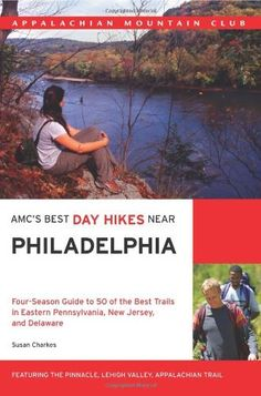 AMC's Best Day Hikes Near Philadelphia: Four-season Guide to 50 of the Best Trails in Eastern Pennsylvania, New Jersey, and Delaware by Susan Charkes.The hike descriptions include highlights, detailed maps, essays on history and nature, and summaries of time required, distances, and difficulty levels. Also included are methods to get access to some of the trailheads by public transit.