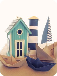 My House of Giggles.... Nautical Baby Boy Shower