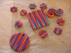 Awesome way to make clay beads/pendants with gradiating colors that both looks great and is pretty easy to do!!