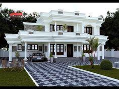 House Balcony Design, House Outer Design, House Arch Design, Modern Small House Design, House Outside Design, Classic House Design, Modern Exterior House Designs, Village House Design, Kerala House Design