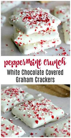 3 White Chocolate No-Bake Festive Candy Recipes - Here's 3 quick easy and quick no-bake, candy recipes that everyone would love to sink their teeth into, receive as a nice gift or display on a cute party tray for your holiday celebration. #whitechocolate #nobake #festivecandyrecipes #candyrecipes #christmas #chocolatecoveredgraham #vanillafudge #vanillabean #bark #butterscotch #vanillafudge