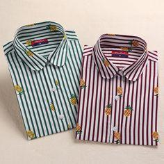 2016 Plus Size 5XL Women Shirts Blouses Long Sleeve Cotton Tops Floral Print Ladies Office Blusa on http://ali.pub/o8xu4