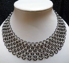 chainmaille necklace by valarie