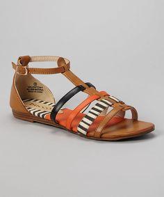 Love this Tan Valentony Slingback Sandal by Bucco on #zulily! #zulilyfinds