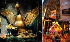 Selfridges unveiled their 2014 Christmas windows officially this morning. FEMAIL were lucky enough to be invited to see the final touches last night, here we reveal the secrets behind the festive display.